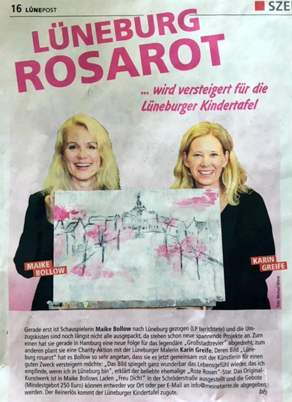 Charity Aktion Maike Bollow und Karin Greife