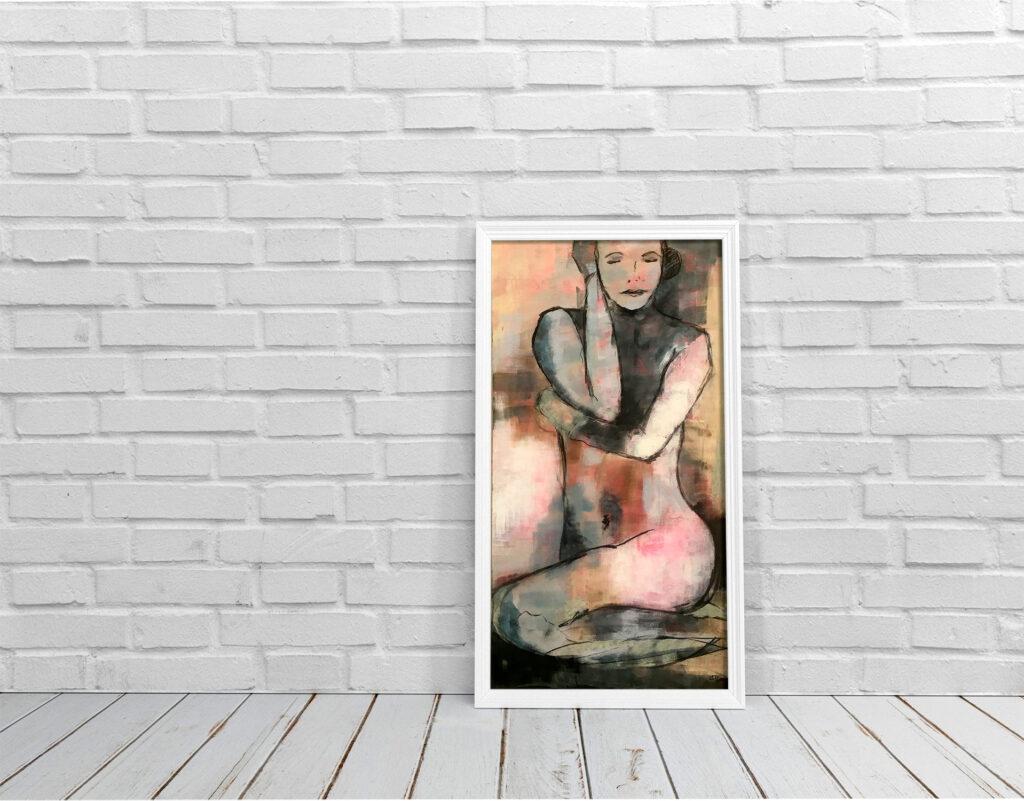 Ausstellung Zwanzig Quadratmeter von Karin Greife in der Kulturbäckerei