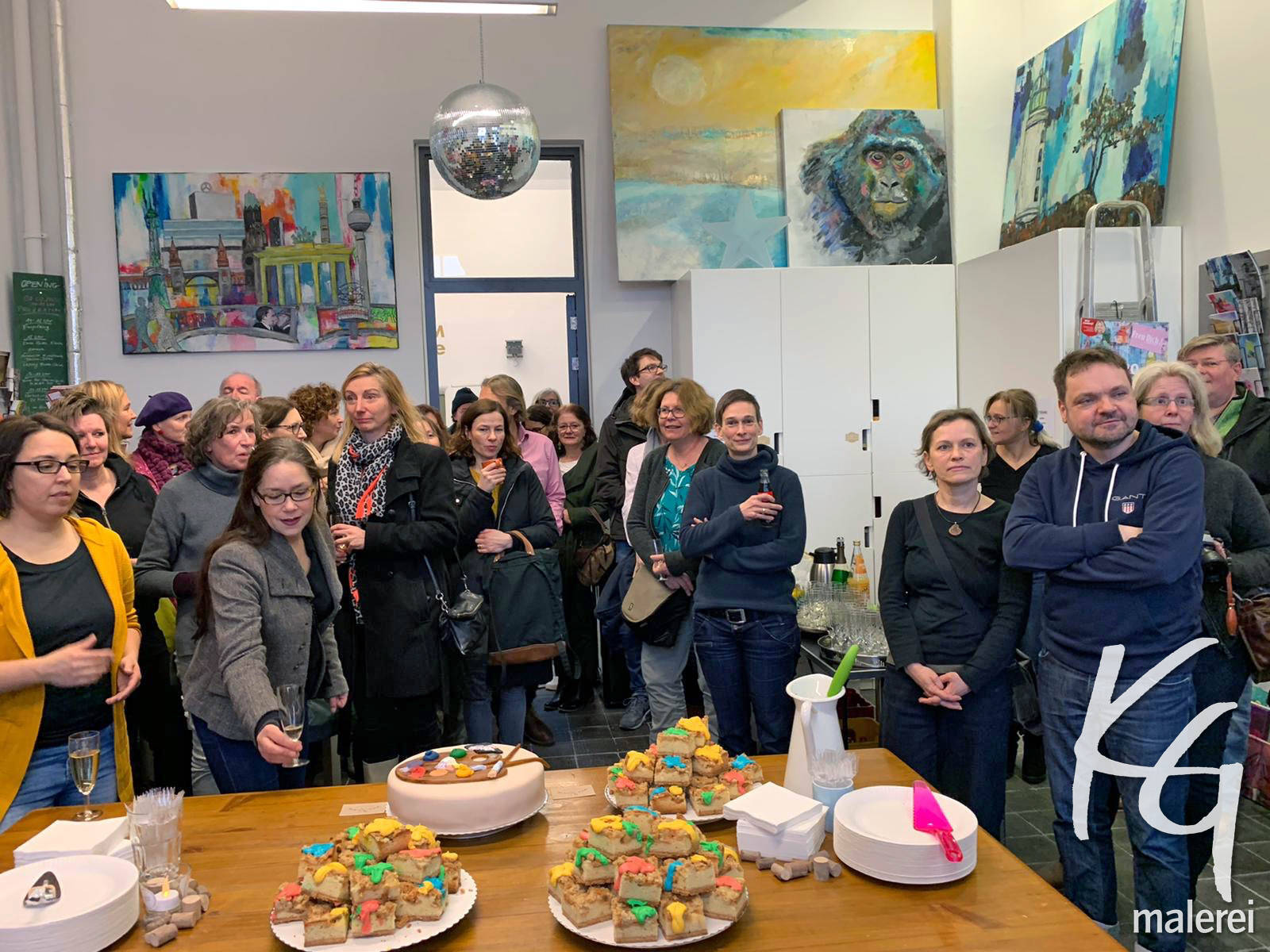 Ausstellung Opening Atelier 1 2020