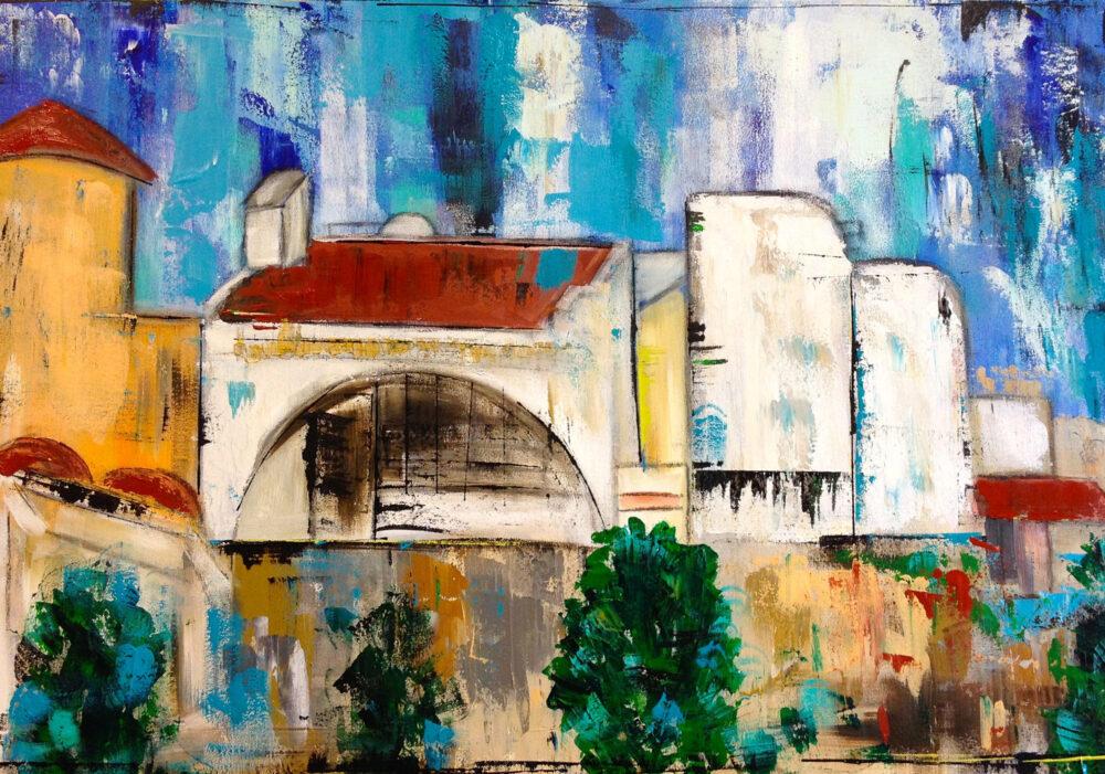 Gemälde Mallorca Ferienhaus