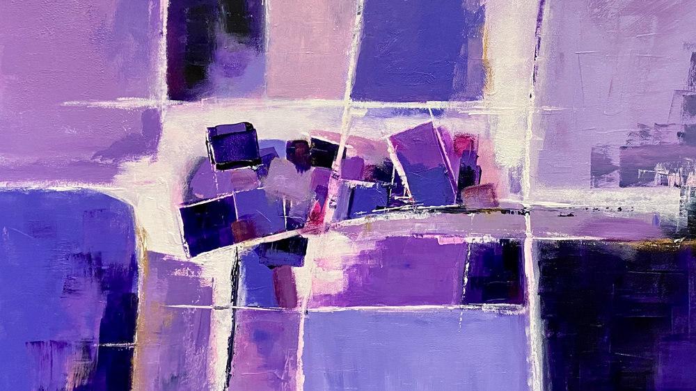 Abstrakte Gemälde von Karin Greife
