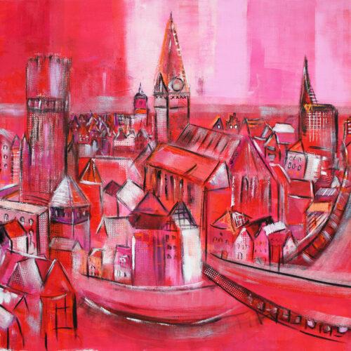 Gemälde Lüneburg an der Ilmenau