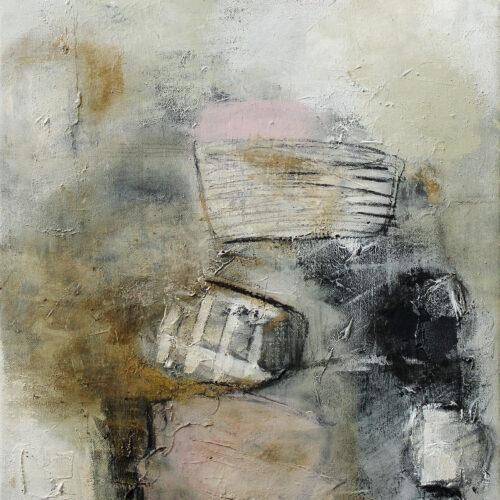Gemälde Bootsanleger