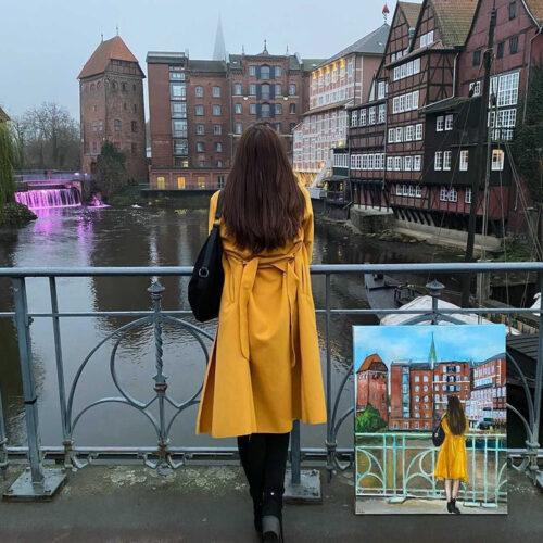 Lüneburgerinnen in Lüneburg